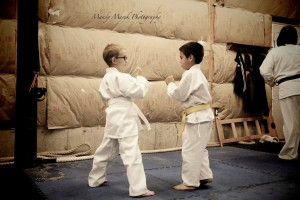 sparring boys
